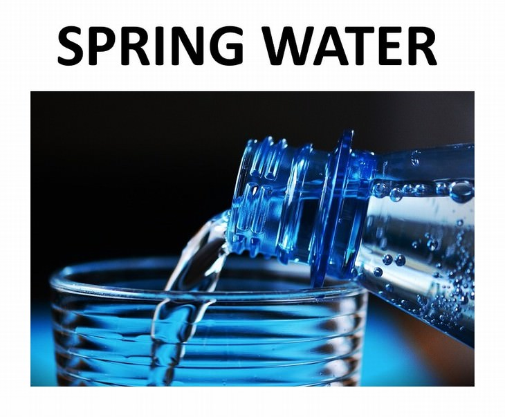9 types of water Spring and Glacier Water