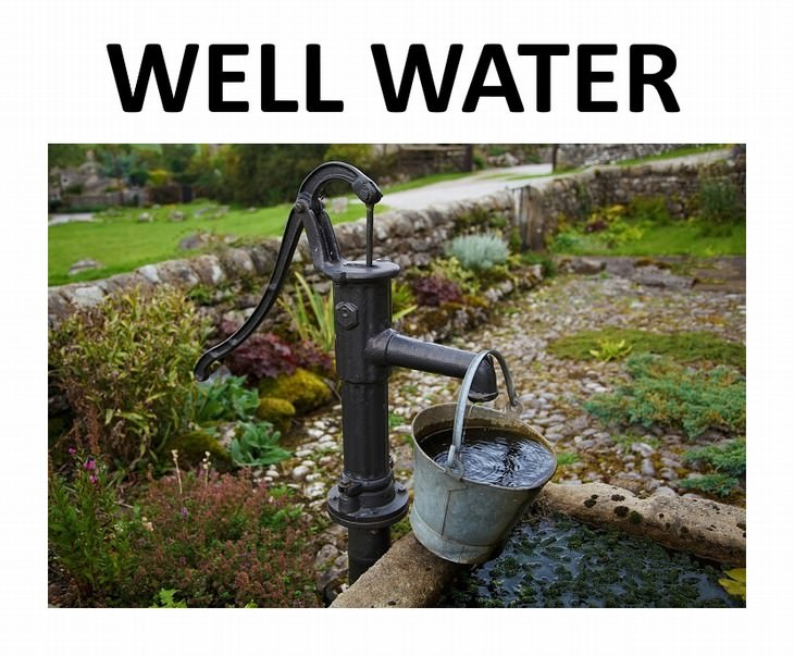9 types of water Well Water