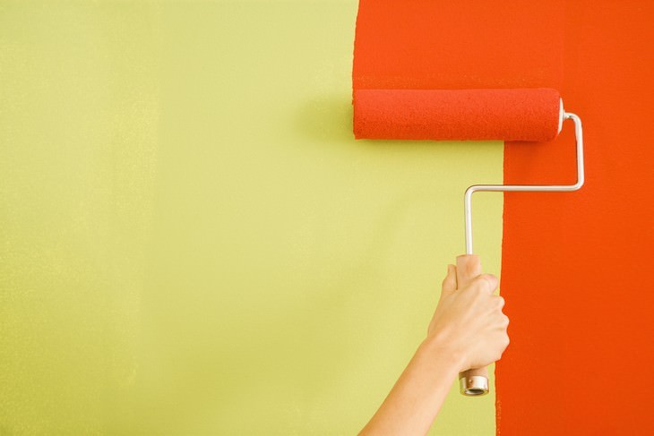 color therapy painting walls