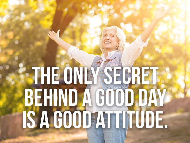 The Secret Behind A Good Day