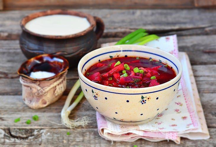 Beet recipes: borscht