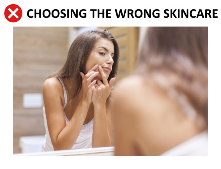 skincare mistakes Using the Wrong Skincare For Your Skin Type