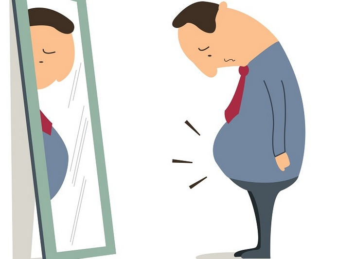 Obesity and depression: self image