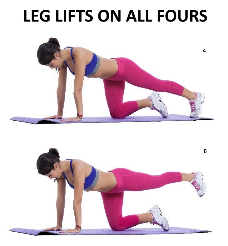 Exercises to Help Reduce Chronic Pain leg raises