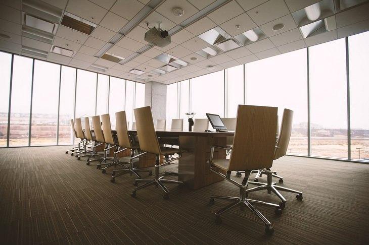 AR Workspace: board room
