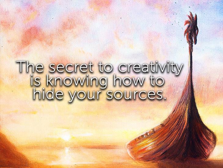 The Secret To Creativity