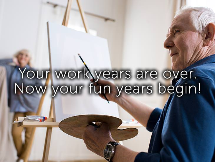Your Work Years Are Over