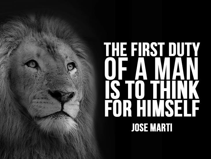 The First Duty Of A Man