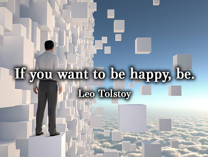If You Want To Be Happy