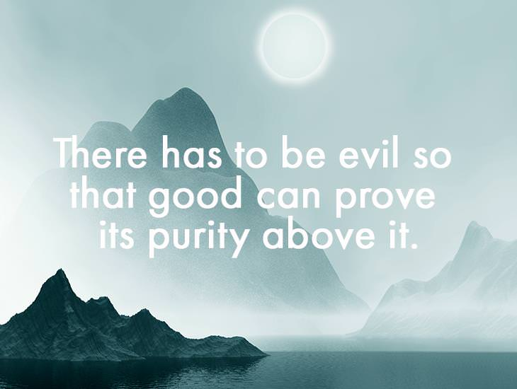 There Has To Be Evil
