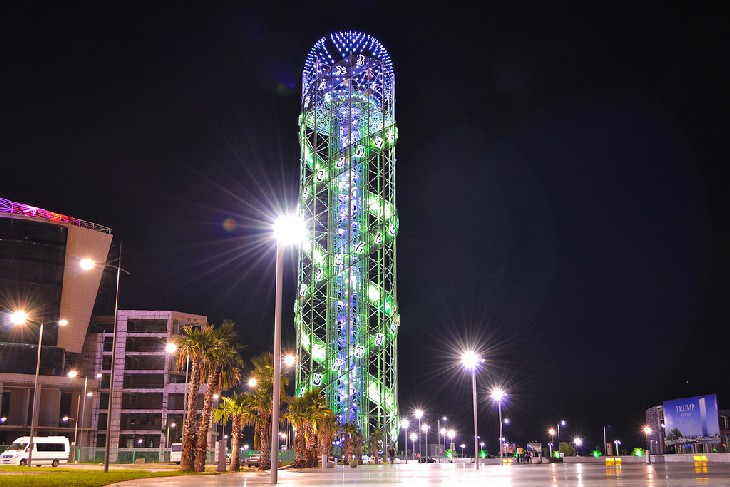 Batumi Alphabetic Tower