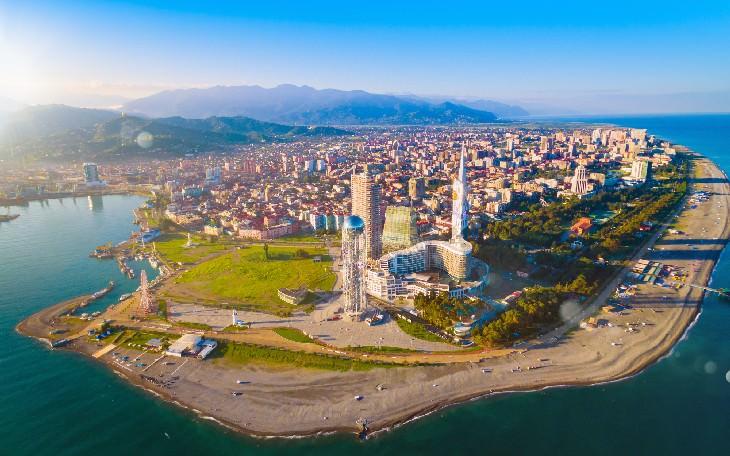 Batumi city panorama