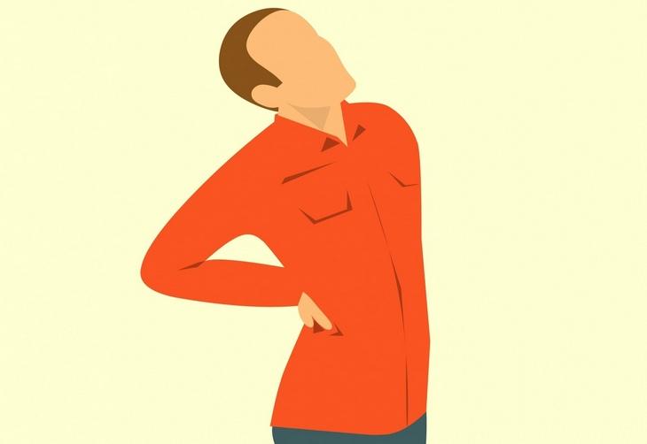 Chronic back pain: sprain