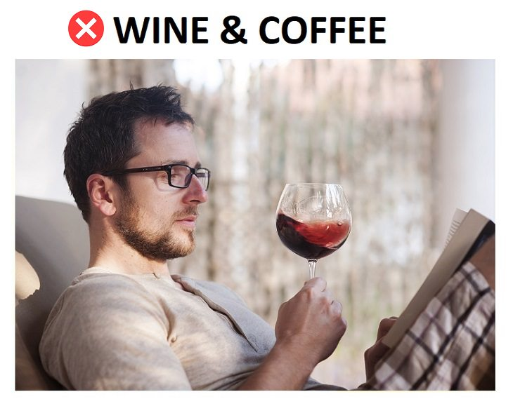 habits promoting tooth damage Drinking Wine & Coffee Can Stain Your Teeth