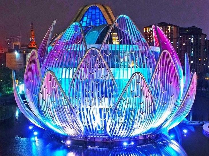 Futuristic Buildings  The Lotus Building