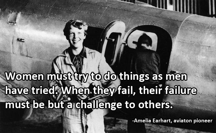 Women's Day: Amelia Earhart