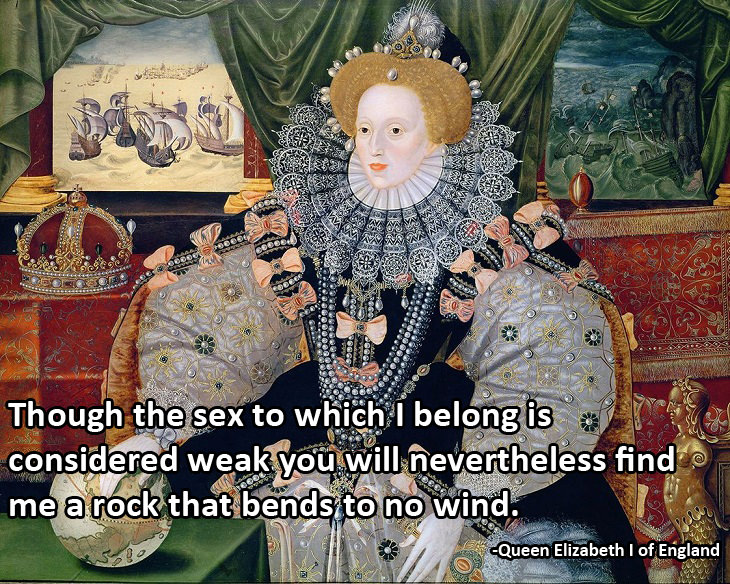 Women's Day: Elizabeth I