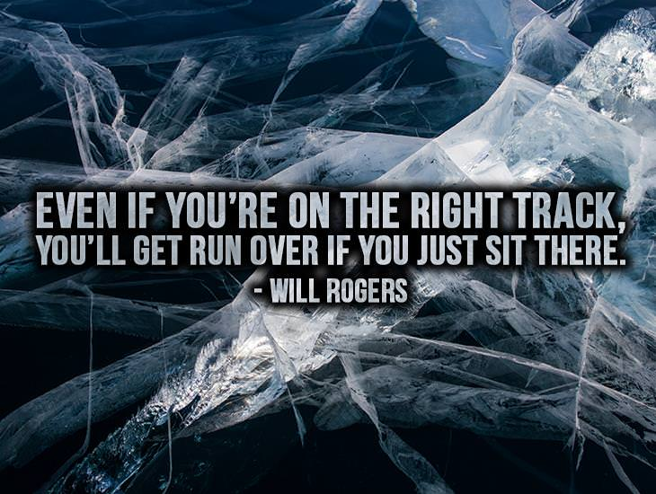 If You're On The Right Track