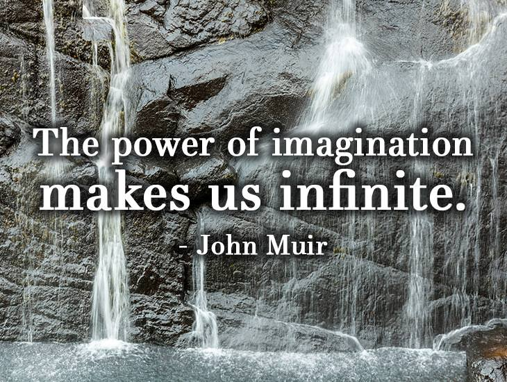 Imagination Makes Us Infinite