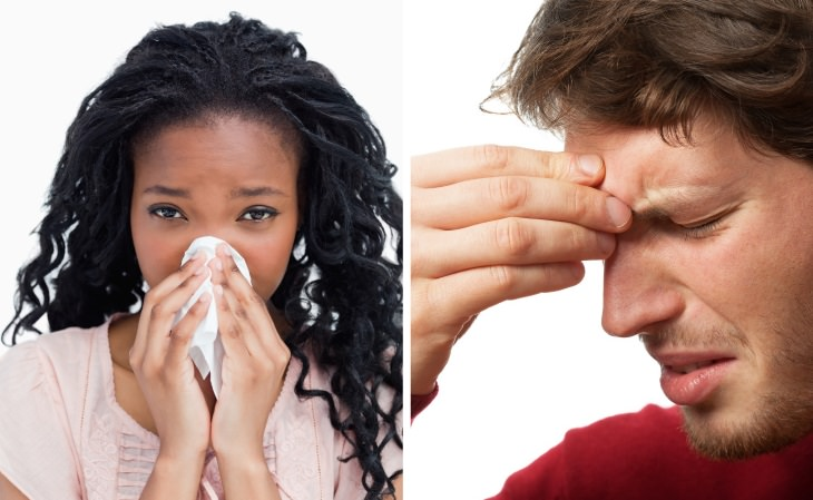 silent signs of allergies A Persistent Cold or Sinus Infection