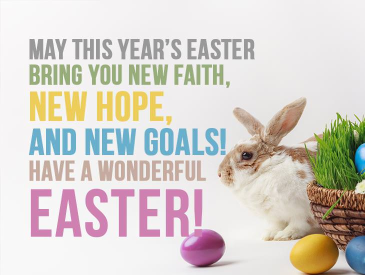 May This Year's Easter Bring You New Faith