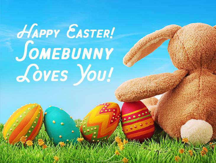 Happy Easter! Somebunny Loves You!