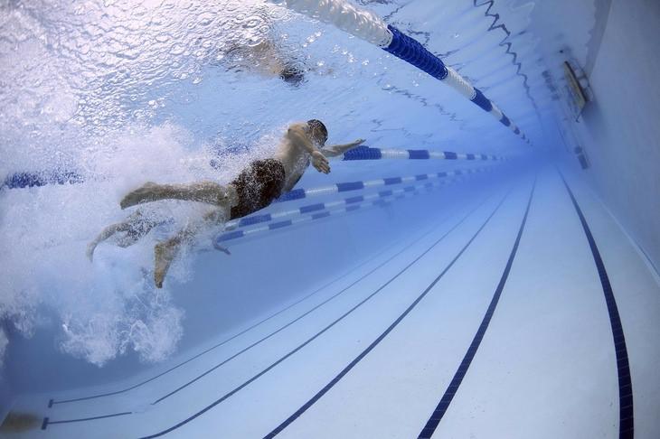 IBS: swimming