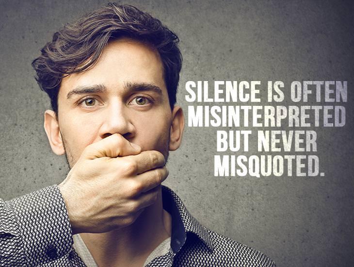 Silence Is Often Misinterpreted