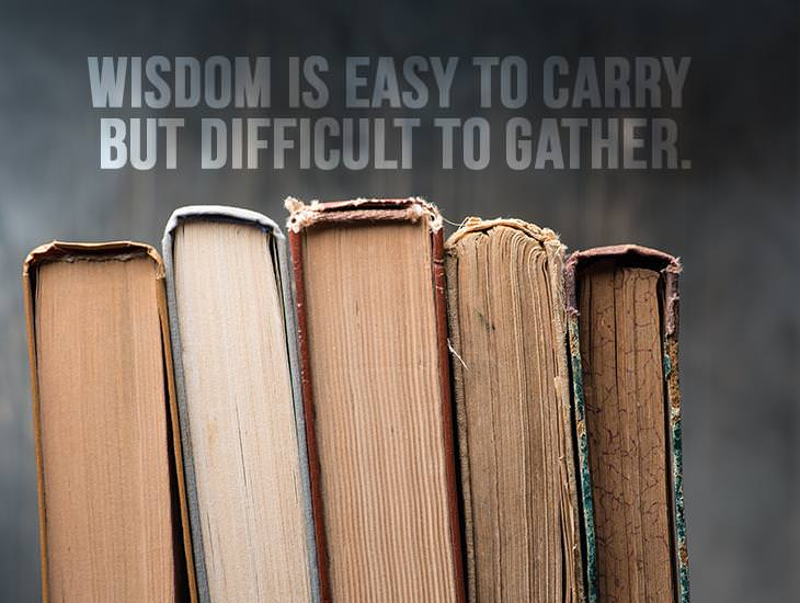 Wisdom Is Easy To Carry