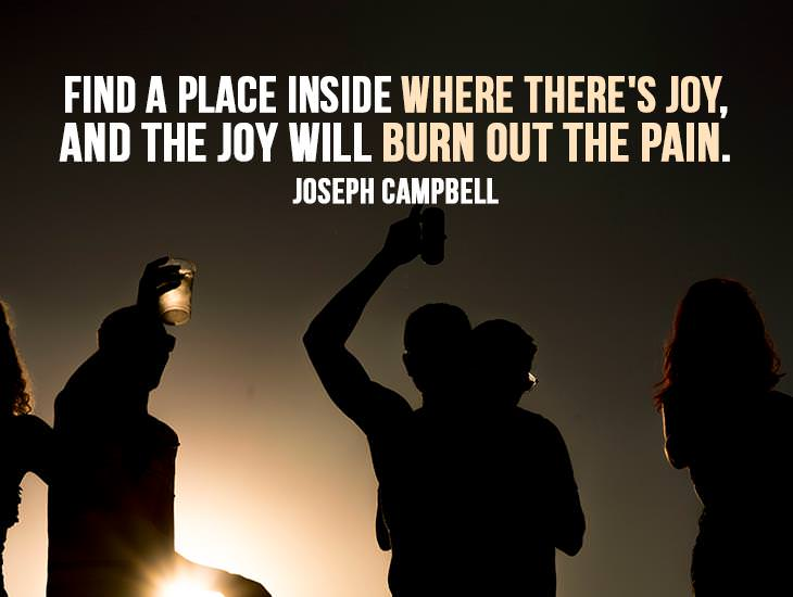 Find A Place Inside Where There's Joy