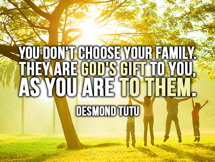 You Don't Choose Your Family