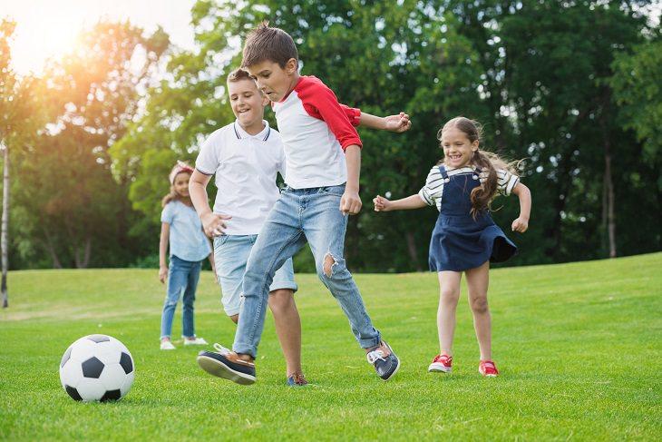 Depression in boys: soccer