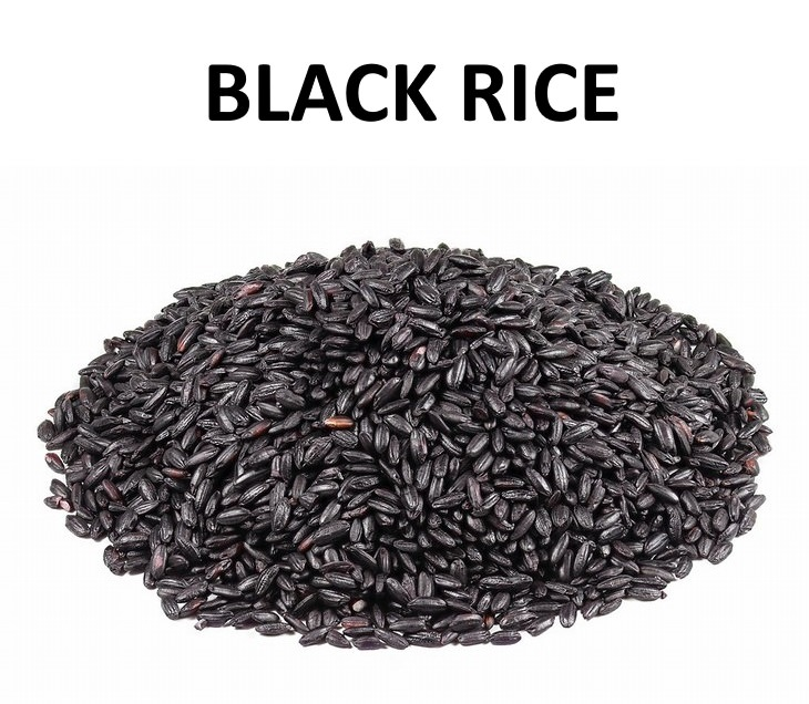 the different kinds of rice black rice