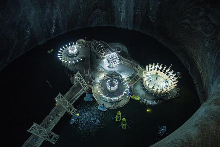 caves tourism Salina Turda