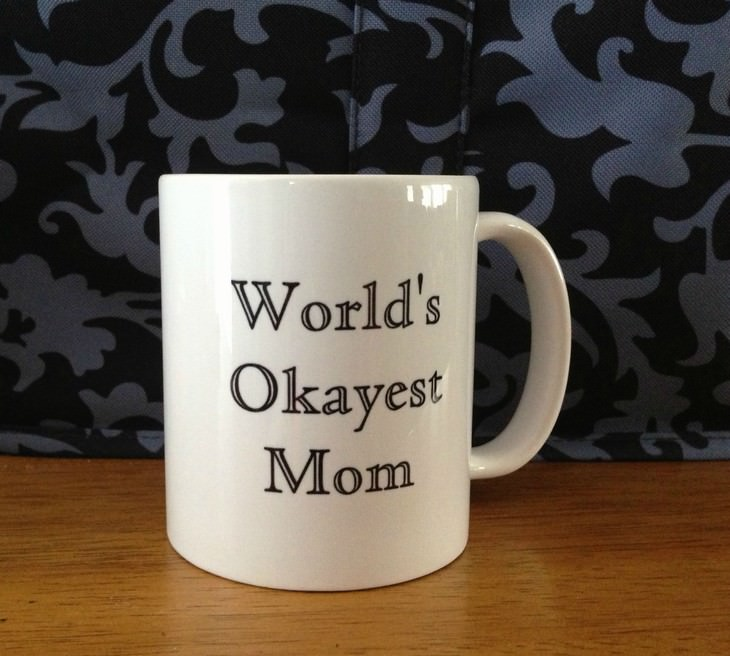 funny mother's day gifts wold's okayest mom