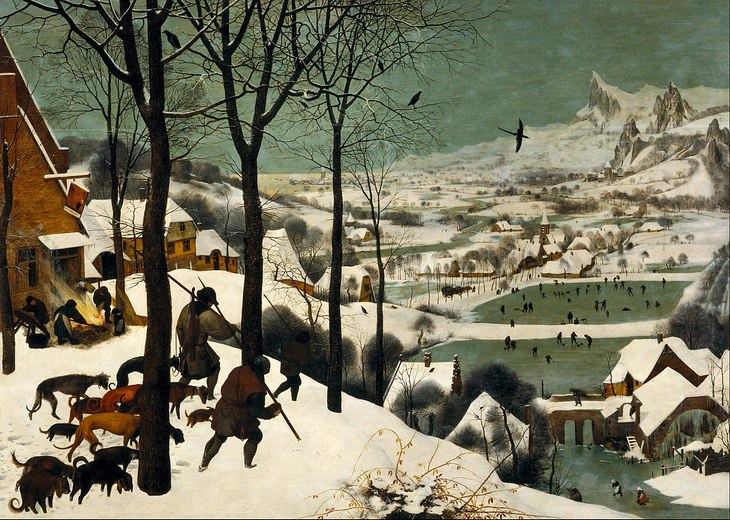 Dutch Painters: Bruegel Hunters
