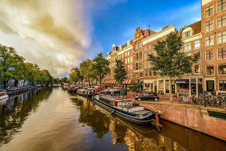Vegan cities: Amsterdam