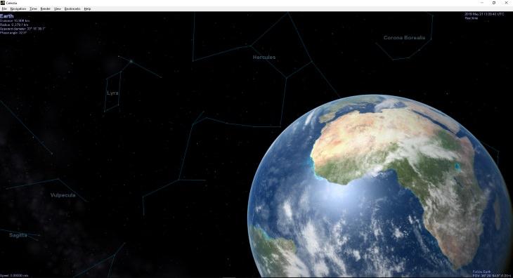 Celestia User Guide Earth