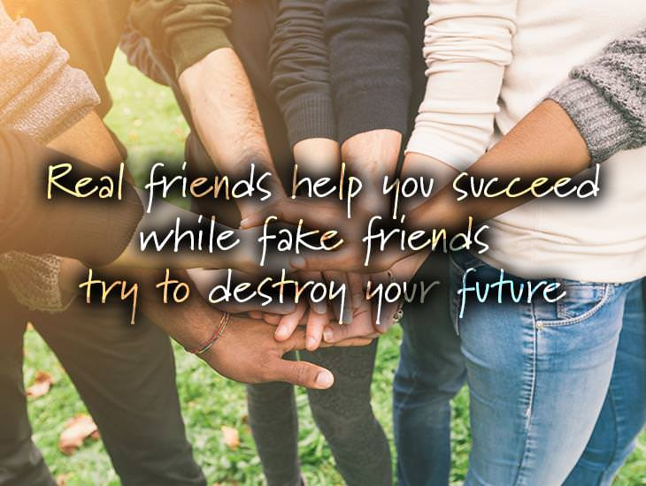 Real Friends Help You Succeed