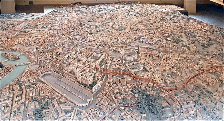 Rome model: full model