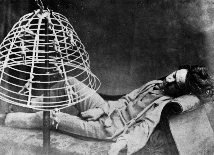 Oscar Gustave Rejlander artist portrait The Dream, 1860