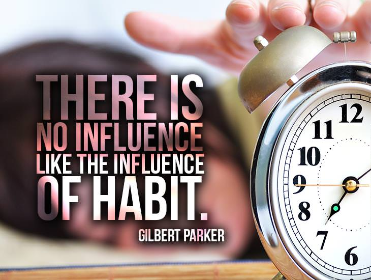 There Is No Influence Like Habit