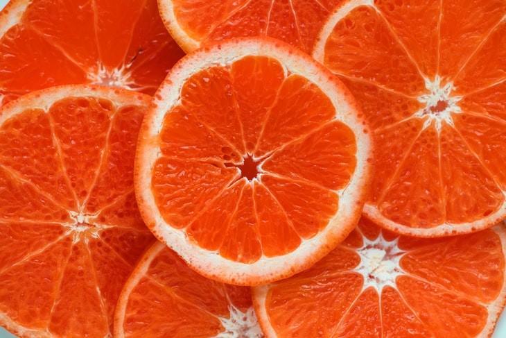 Vitamin C health benefits red oranges