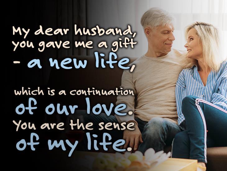 My Dear Husband, You Gave Me A Gift!