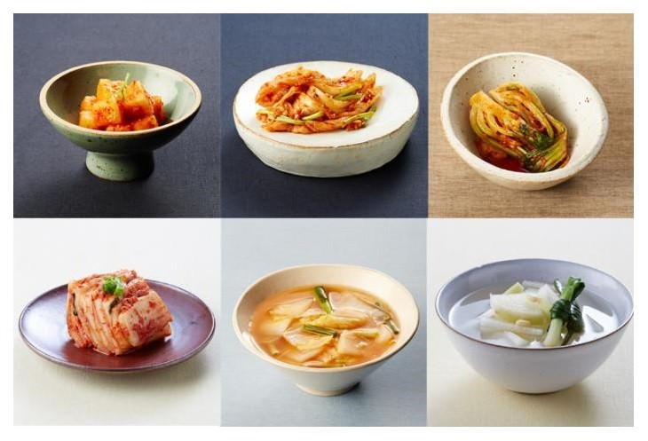 kimchi health benefits different varieties