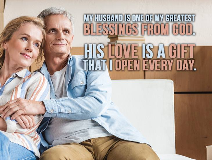 My Husband Is One Of My Greatest Blessings From God!