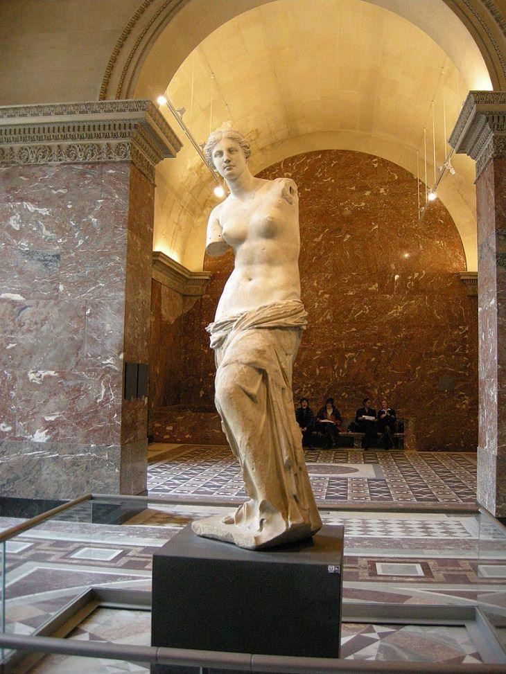 Venus de Milo, sculpture, louvre, museum, art, masterpiece, statue, painting, paris, mona lisa