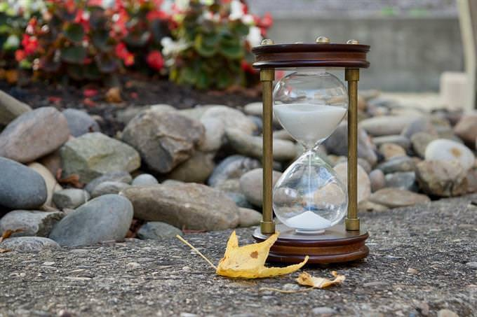 improve your life quiz: sand clock