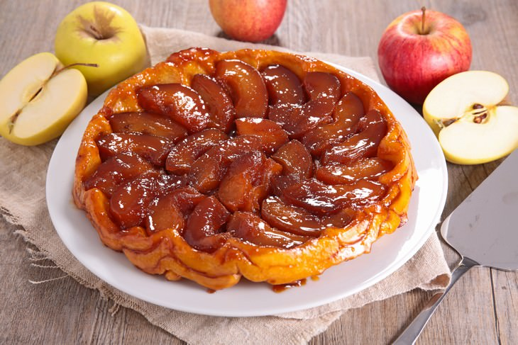 foods to try in France Tarte Tatin