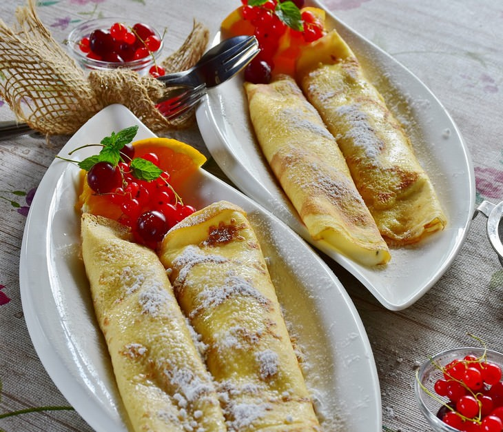 foods to try in France crepes
